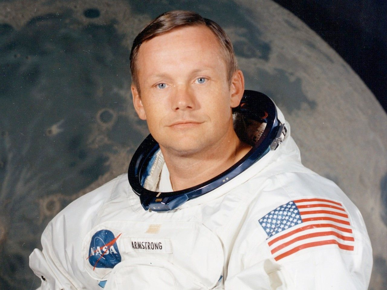 Legendary moonwalker Neil Armstrong narrates his own moon landing.