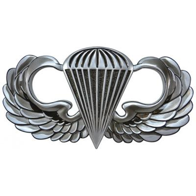 Jump Wings Parachutist Badge Plaque.