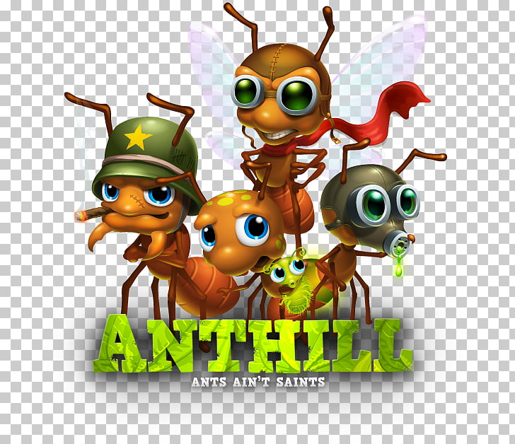 Army ant Insect Toad Cartoon, insect PNG clipart.