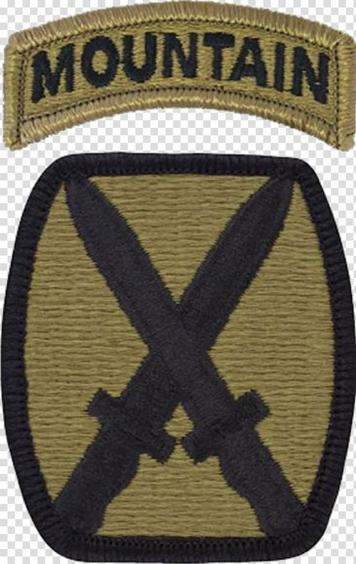 Th Mountain Division Operational Camouflage Pattern Shoulder.