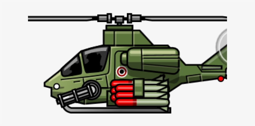 Army Helicopter Clipart Cartoon Attack.