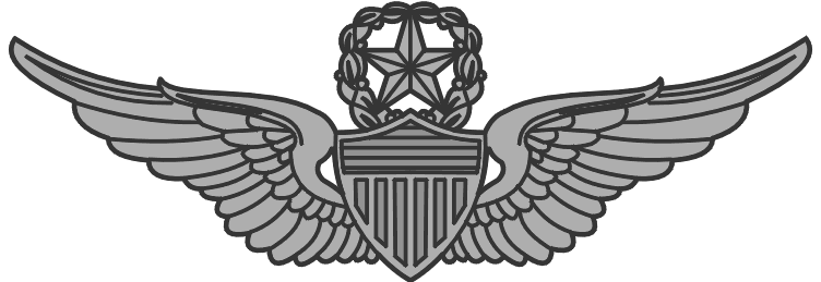 Army Master Aviator Wings Clip Art.