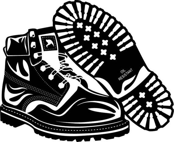 Military Boots Prints Army Soldier Combat Uniform Leather Shoe War .SVG  .EPS .PNG Vector Space Clipart Digital Download Circuit Cut Cutting.