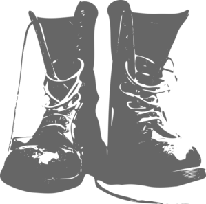 Army Boots Clip Art at Clker.com.