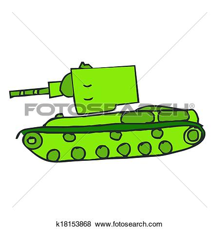 Clip Art of tank machine vector tanks military army war gun.