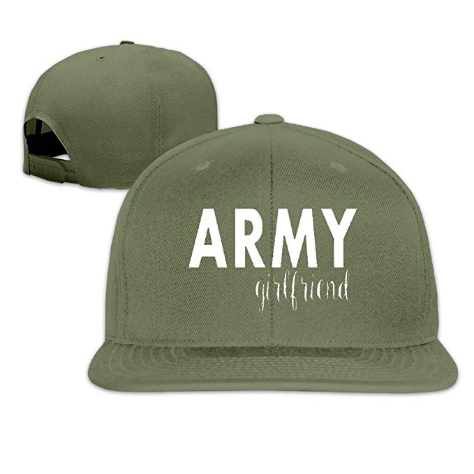 Amazon.com: Army Girlfriend.png Men Women Sport Hat Custom Cap.