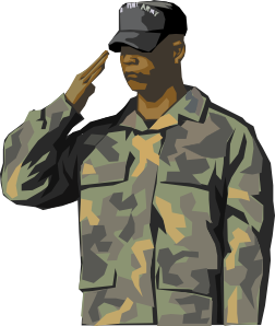 Military clip art free army clipart image.