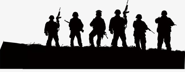 Army clipart black and white 3 » Clipart Portal.