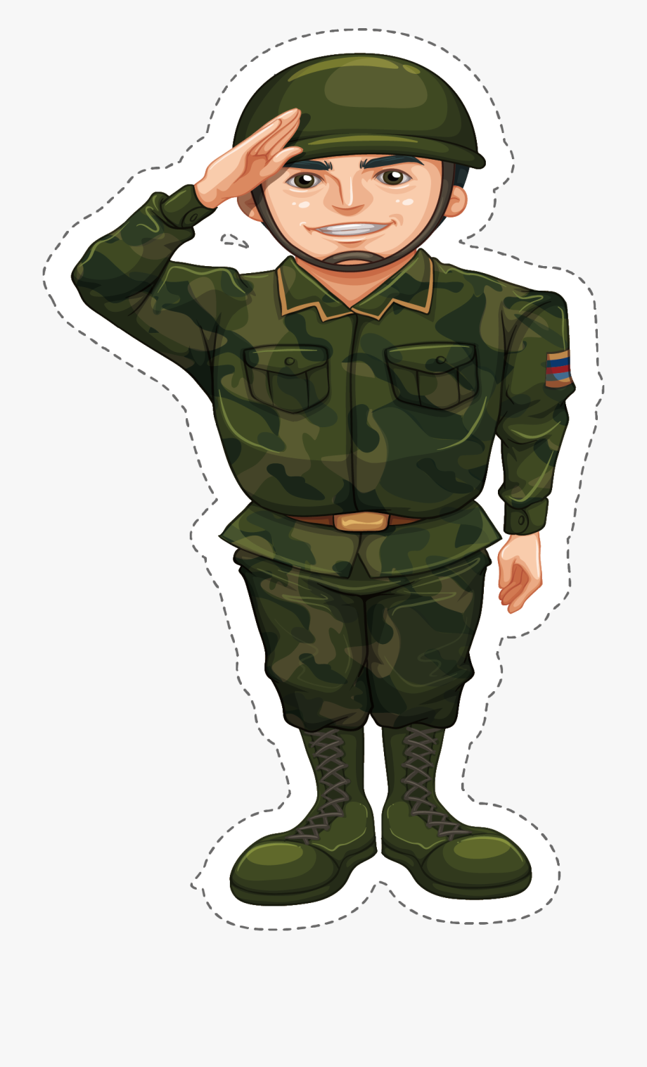 Military Clipart Army Camouflage.