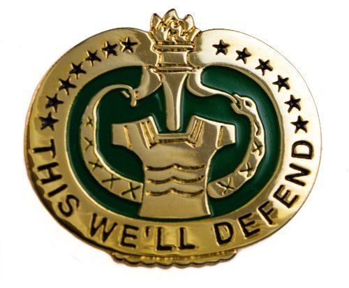 US Army Drill Sergeant Instructor quality hat or lapel pin.