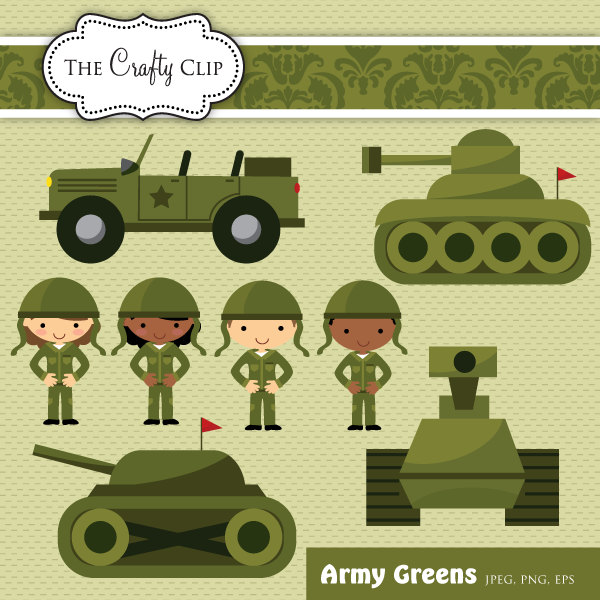 Army Clipart For Kids.