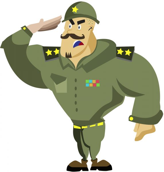 Free Cartoon Army Salute Gifs, Download Free Clip Art, Free.