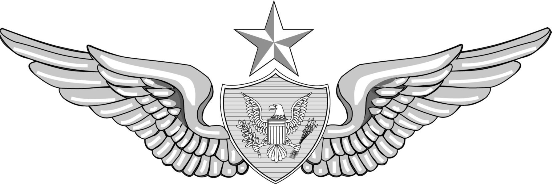 Military army clip art qualification badges 3.