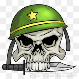 Skull Army PNG and Skull Army Transparent Clipart Free Download..