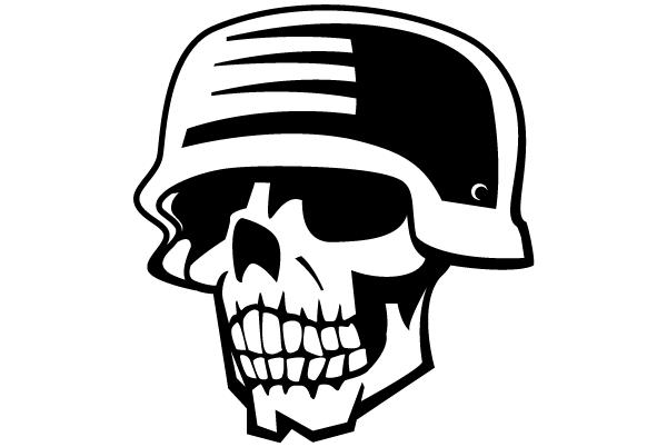 Soldier Skull Free Vector Clipart free vector.