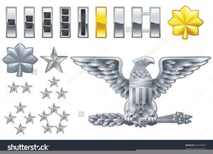 Clipart Army Colonel Insignia.