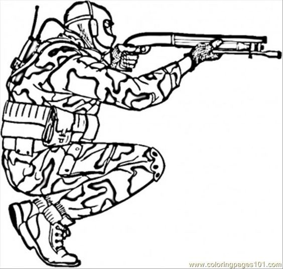 Army Coloring Pages Printable.