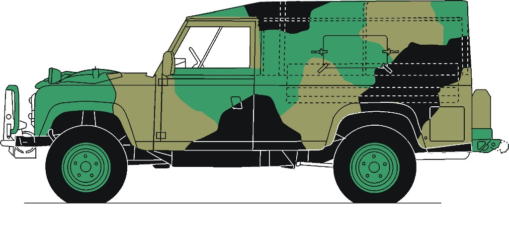 Australian Army Vehicle Colour Schemes and Paint.