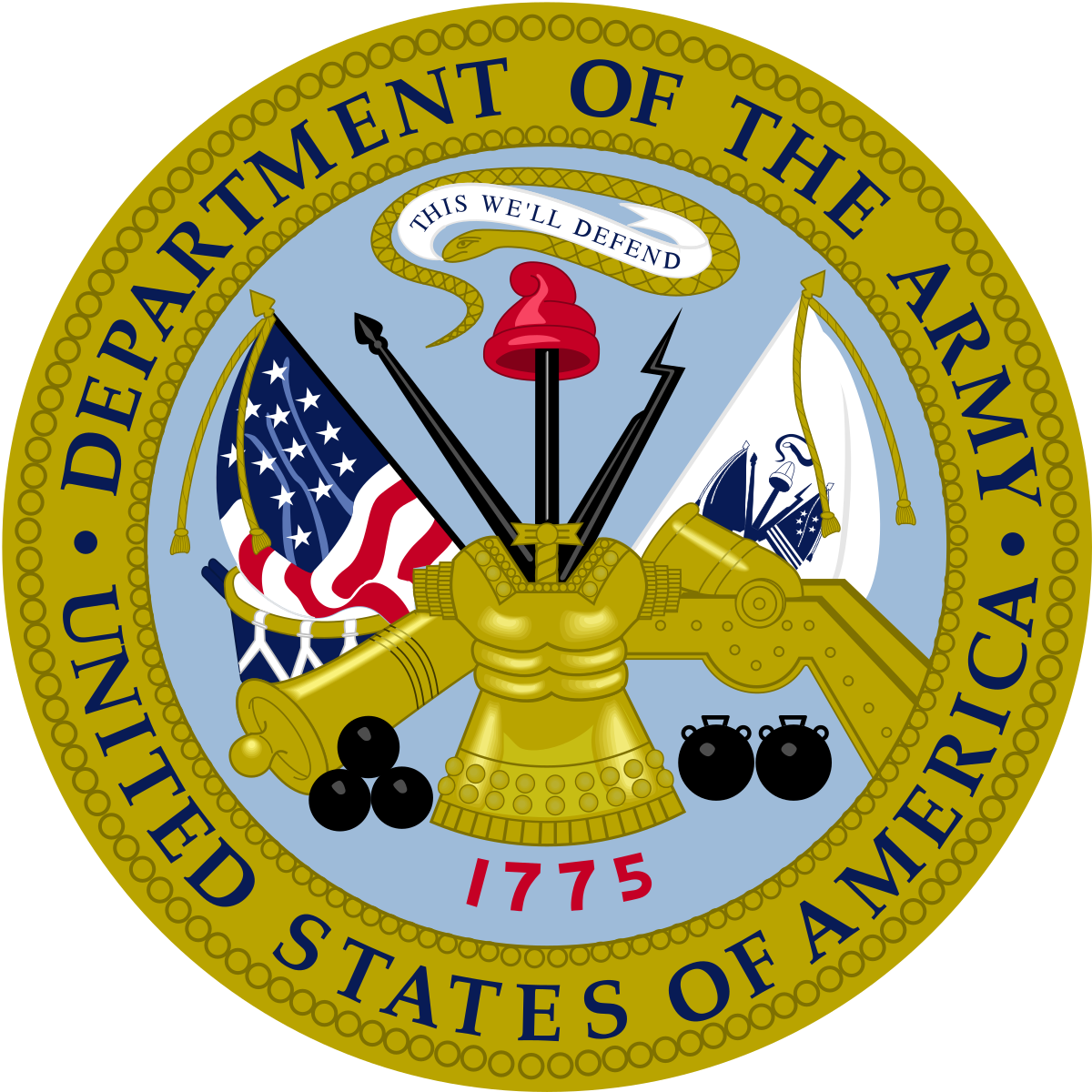 United States Army branch insignia.