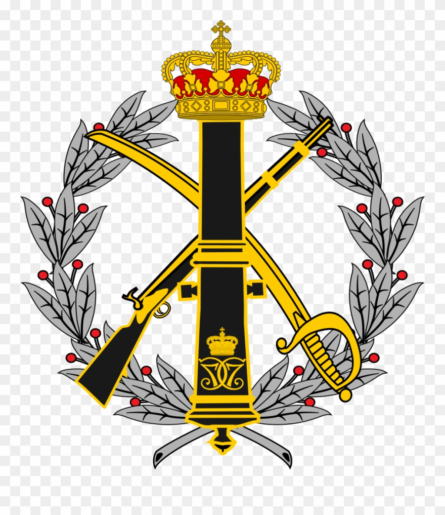 Coat Of Arms For The Danish Army Staff.