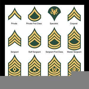Army Csm Rank Clipart.