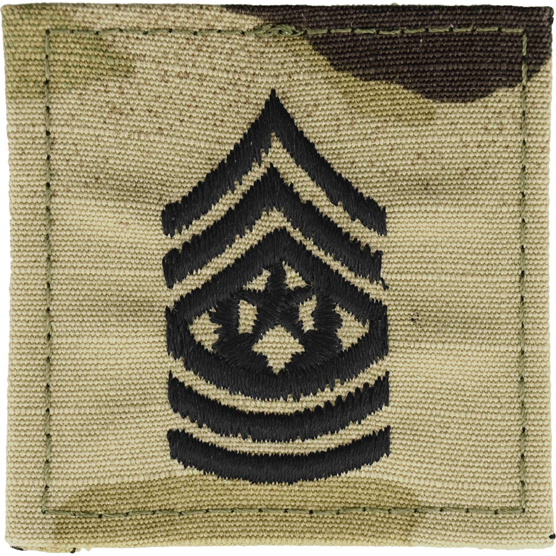 Army Rank Command Sergeant Major (csm) Velcro (ocp), 2 Qty Per Pkg.