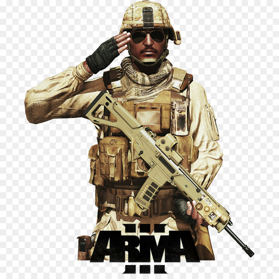 ARMA 3 Soldier Military Weapon Army.