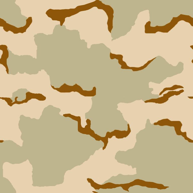 Desert Storm Era Army Desert.