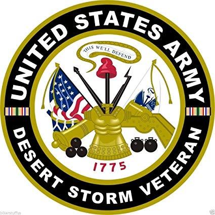 Amazon.com: MFX Design Us Army Desert Storm Veteran Bumper.