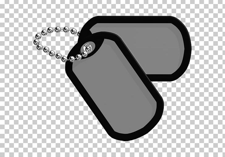 Dog Tag Military United States Army Block Switch PNG.