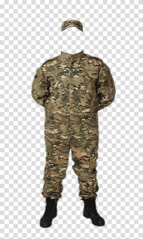 Camouflage uniform illustration, Army Combat Uniform.