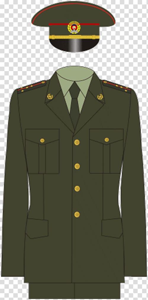 Russia Military uniform Army officer, uniform transparent.