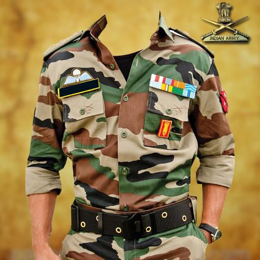 Indian Army Photo Uniform Editor.