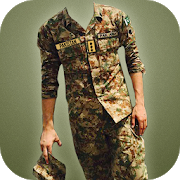 Do you wish to make an impressive pak army photo having Army Suit.