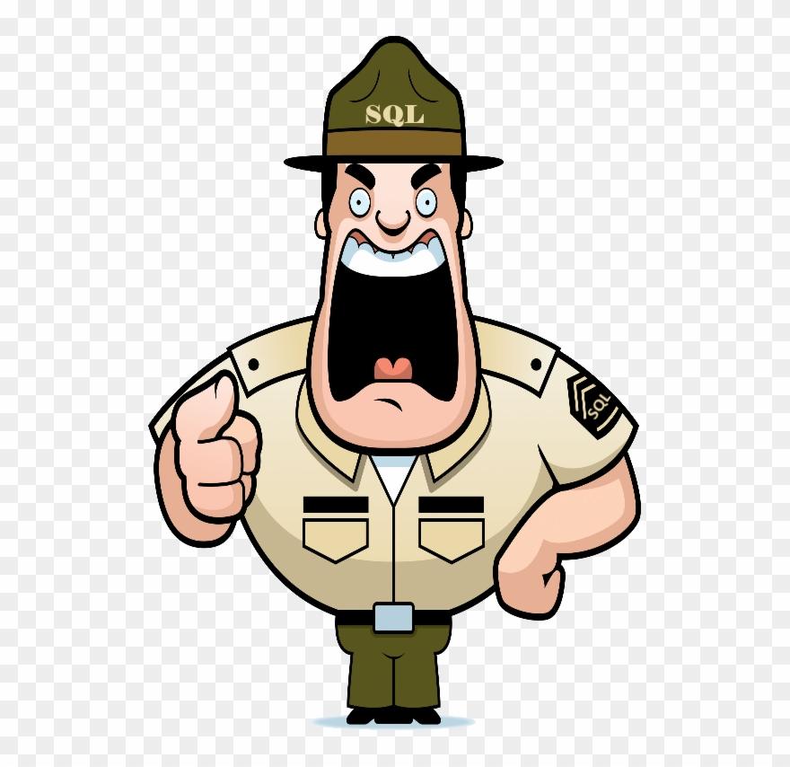 Drill Sergeant Cartoon Clipart (#792277).