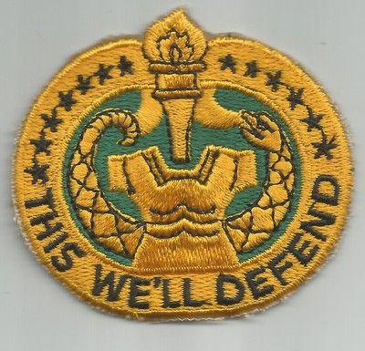 United States ARMY DRILL SERGEANT MILITARY PATCH.