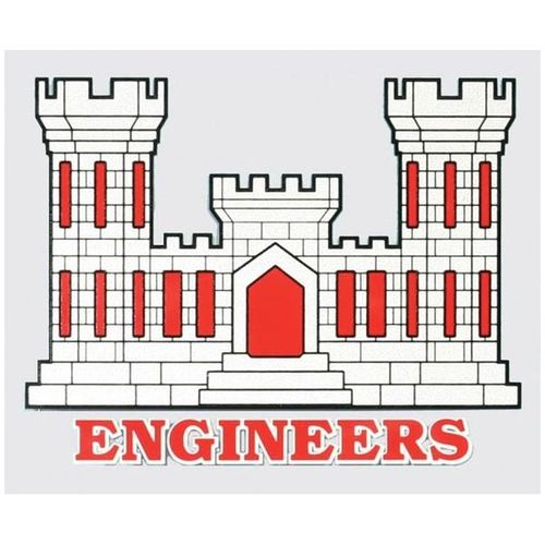 Engineers Castle Decal.