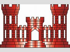 Army Engineer Castle Clip Art.
