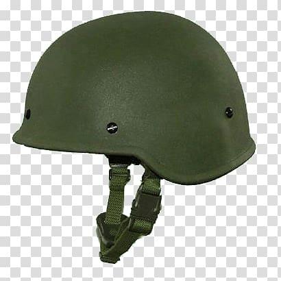 Green M1 tactical helmet, Military Steel Helmet transparent.