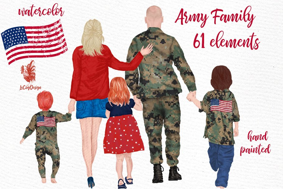 Army Family Clipart Soldier clipart.