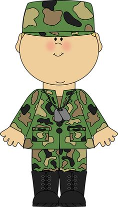 5251 Army free clipart.