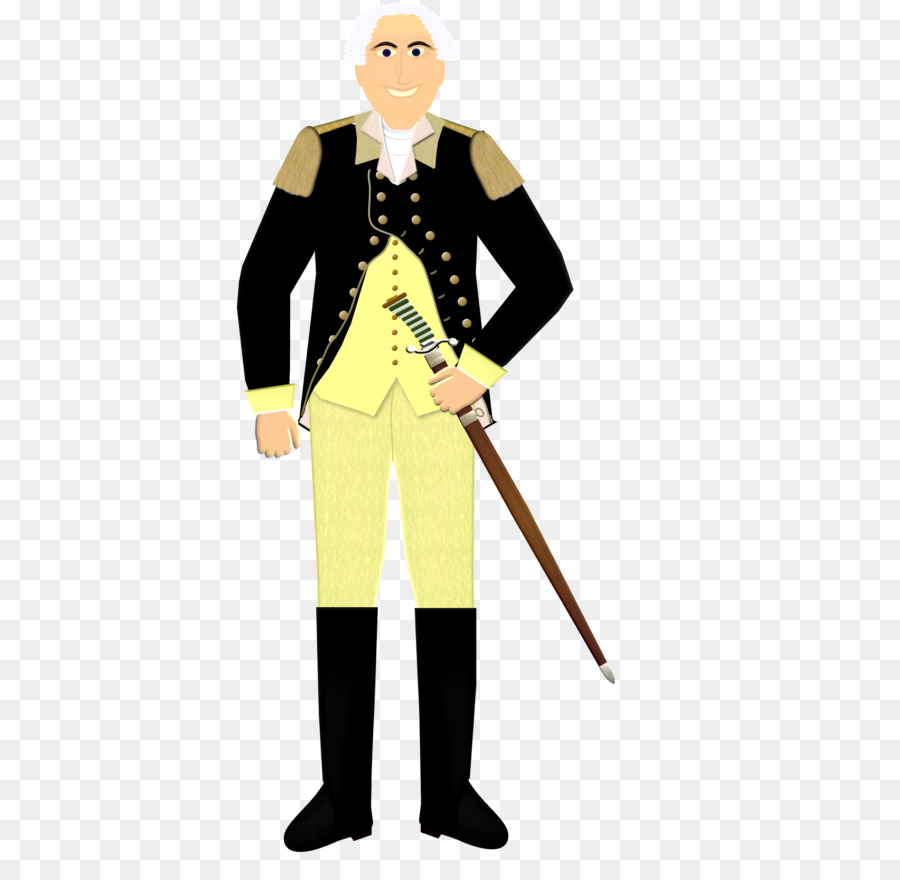 George Washington Cartoon clipart.