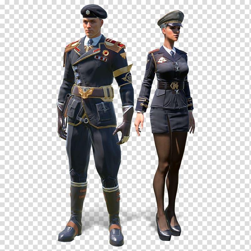 Skyforge Army officer Military uniform Soldier, Soldier.