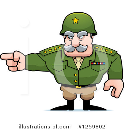 Army General Clipart #1259804.