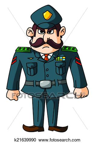 General Army Clipart.
