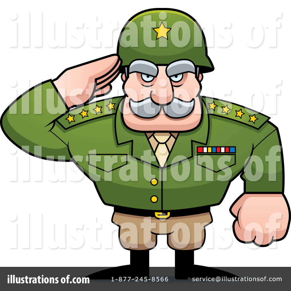 Army General Clipart #1259803.