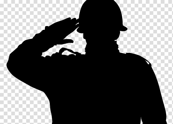 Soldier silhouette artwork, Soldier Military Army Salute.
