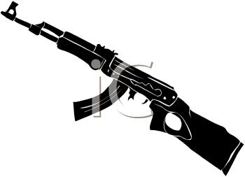 Army gun clipart.