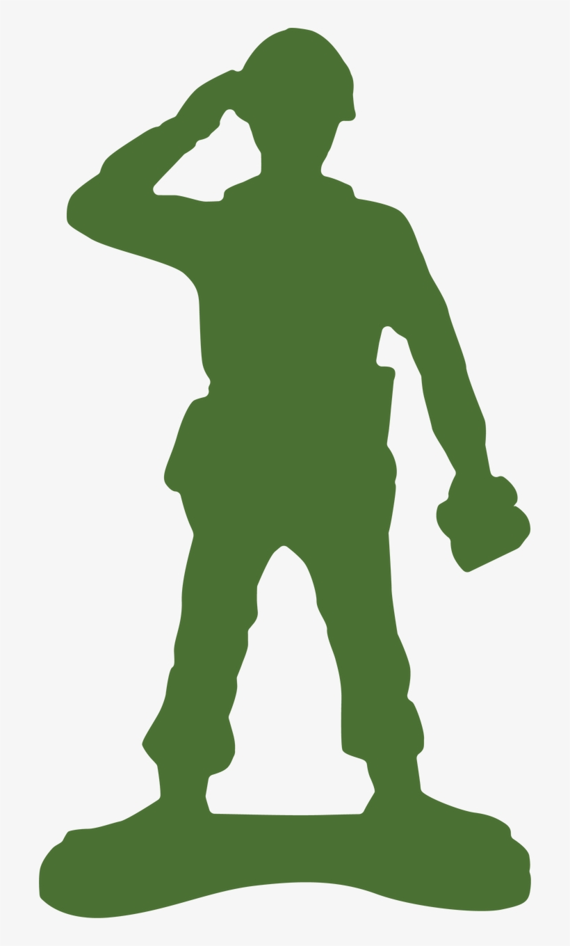 Green,Standing,Silhouette,Army men,Recreation,Clip art,Fictional.