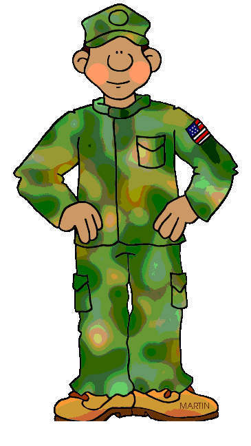 Army Guy Clipart Sheets 1420.